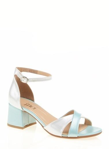 İnci Sandalet Yeşil